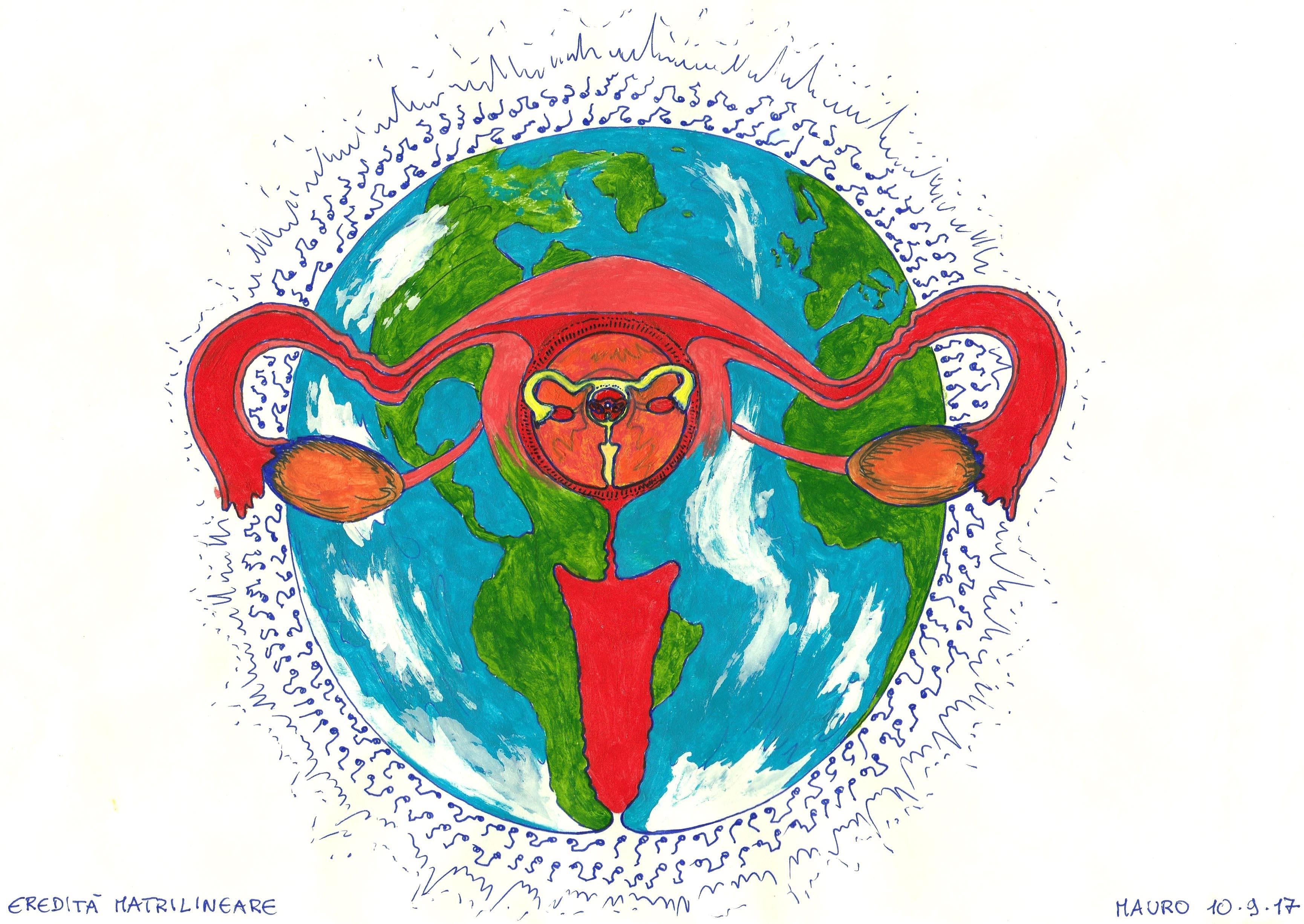 utérus ovaires